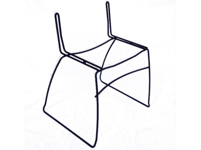Wire Chair Frame